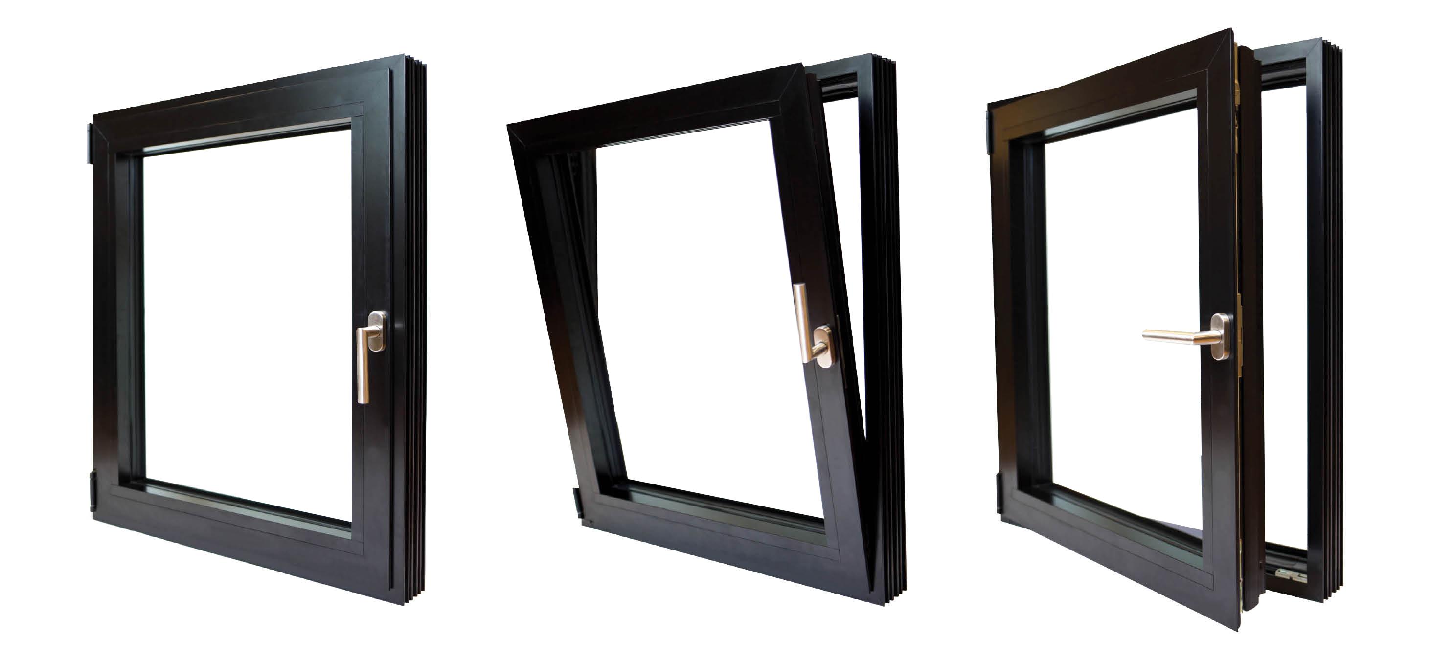 3 tilt turn windows aluminum 1