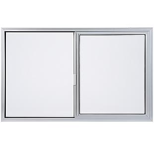 aluminum horizontal slider