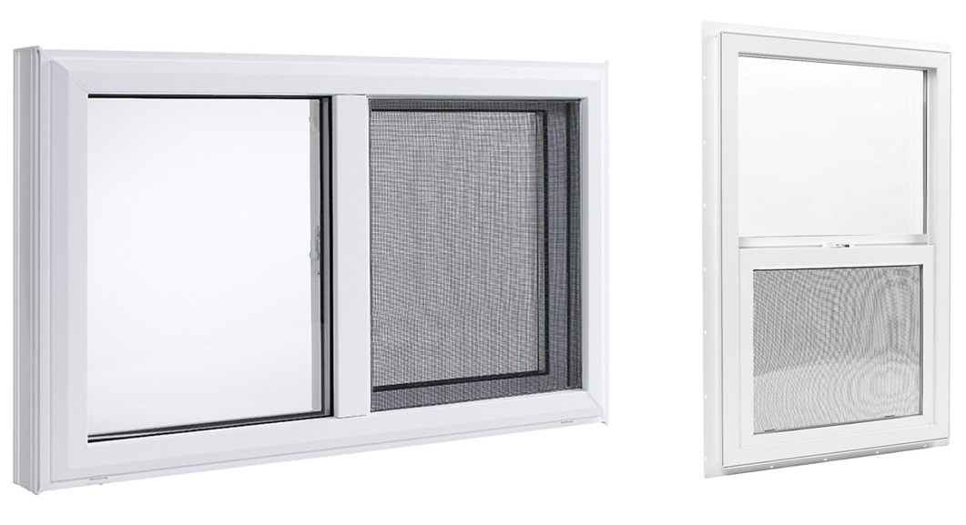 hung slider windows